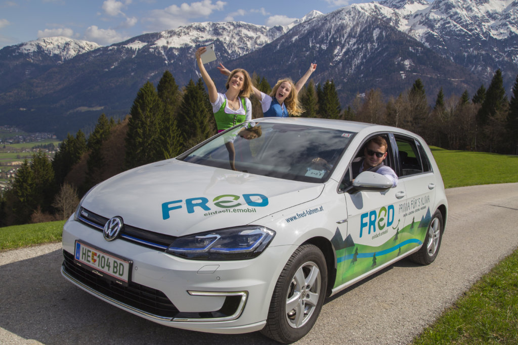 FReD fahren - E-Carsharing, www.fred-fahren.at